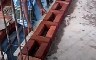 Rat Trap Bond - Advantages, Disadvantages, Construction Method, Saving
