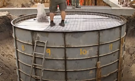 Design of circular water tank