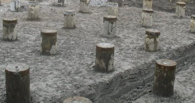 concrete piles