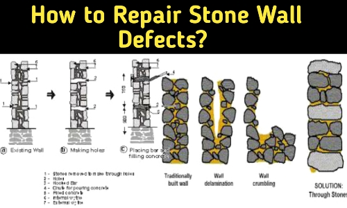 how to repair of stone masonry