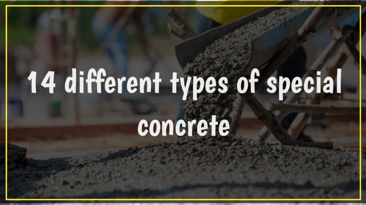 special types of concrete