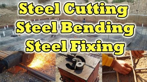 Steel Cutting | Steel Bending | Steel Fixing