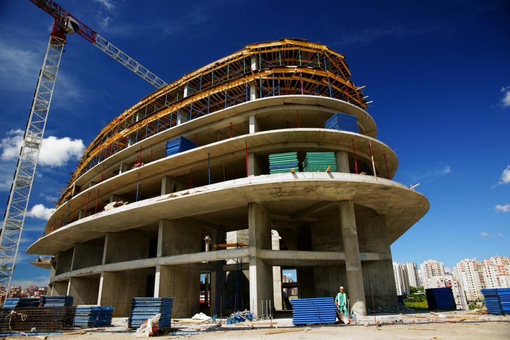 RCC (Reinforced Cement Concrete) Building