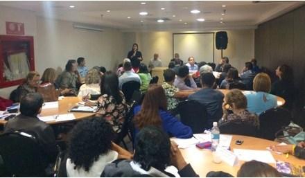 Más de 80 activistas e integrantes de OSC participaron en encuentro para la construcción de una Agenda Urgente de DDHH