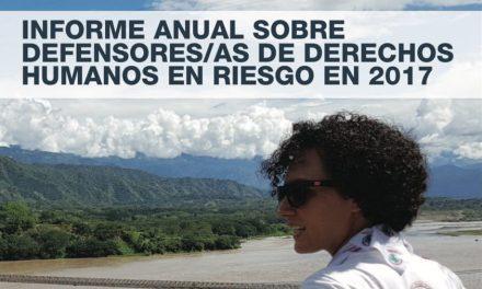 Informe Anual Front Line Defenders: Más de 300 activistas asesinados en 2017