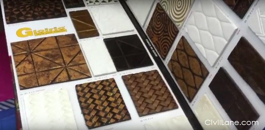 Charcoal Decorative Sheet For Interior Civillane