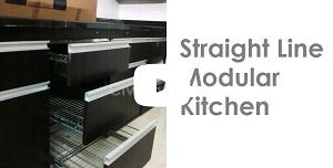 Straight Line Modular Kitchen