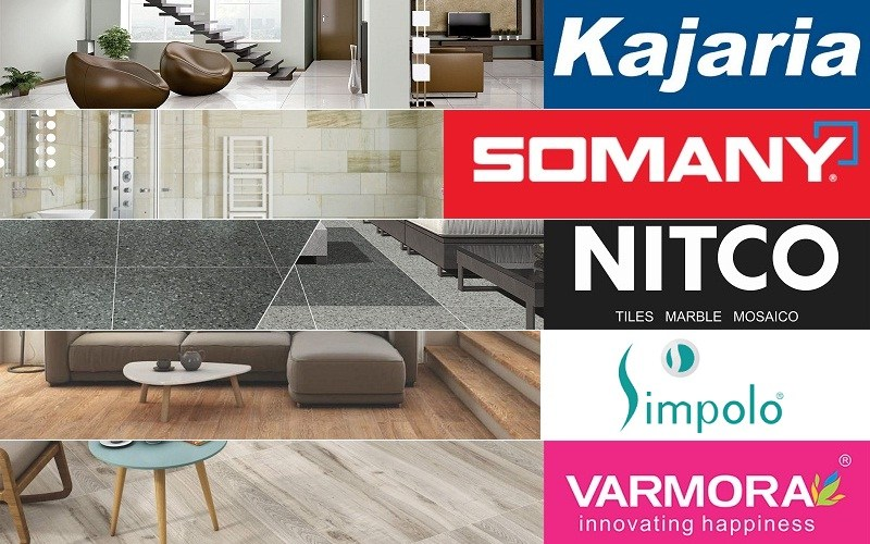 Top 5 Ceramic / Vitrified Tiles Companies In India | CivilLane
