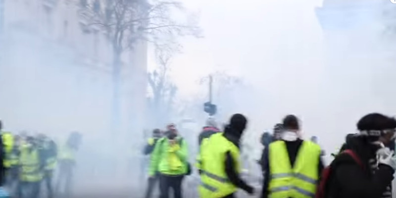 Paris Yellow Jacket Protest 2018