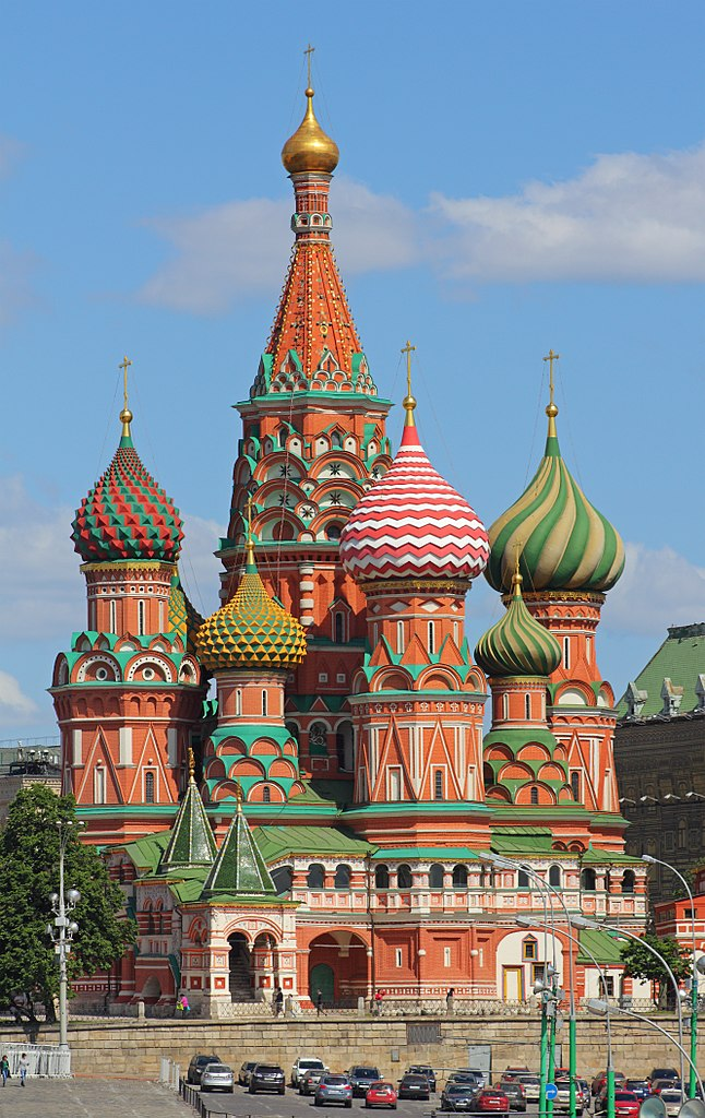 St Basils Catherdal in Moscow