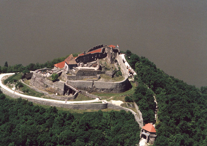 Iconic Visegrad Castle in Hungary