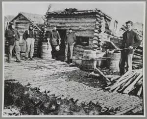 Civil War Camp Kitchen