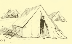 Civil War Officers Tent