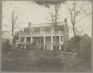 McLean House Site of Robert E. Lee's Surrender Appomattox, Va