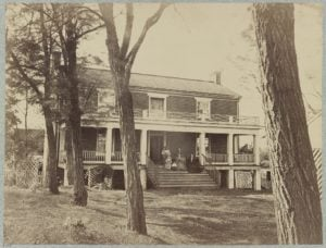 McLean's House Site of Robert E. Lee's Surrender, Appomattox, Va