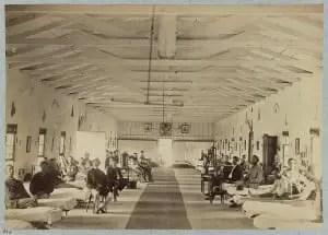 Treating Civil War Diseases at Armory Square Hospital, Washington, D.C.