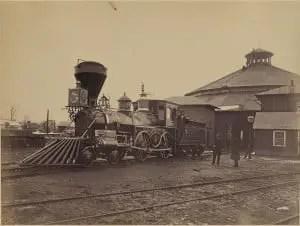 Civil War Locomotive J.H. Devereux