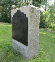 ANV 1st Corps (Longstreet) HQ Monument