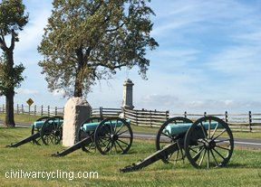 learn American history while bicycling