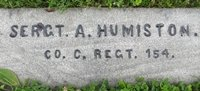 Amos Humiston in Soldiers National Cemetery