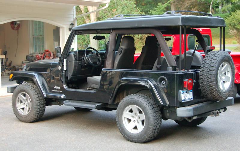 Jeep Yj Soft Half Cab Top