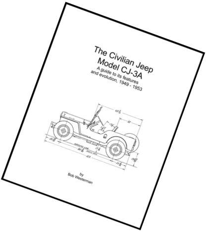 Willys Overland Jeep Model CJ-3A Book