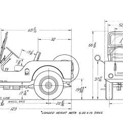 willy cj2 jeep wiring diagram [ 1580 x 782 Pixel ]