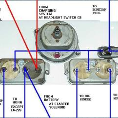 Gm Fuel Sending Unit Wiring Diagram Saltwater Ecosystem 1950-1/2 To 1956 Willys Utility Vehicles Diagnostics For Gauges