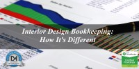 Interior Design Bookkeeping: How It's Different