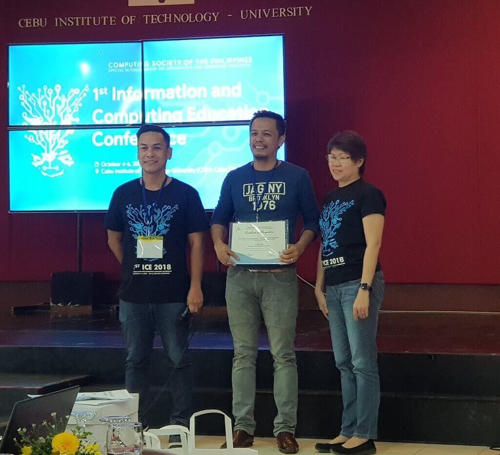 Computer Studies Professors receive Best Paper Award