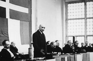 Besuch von Robert Schuman am 15. Dezember 1955