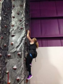 Bouldering is just one of the activities done through the Berkana House social club