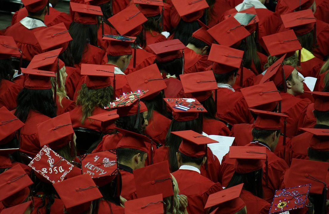 University of Phoenix degree graduation ceremony
