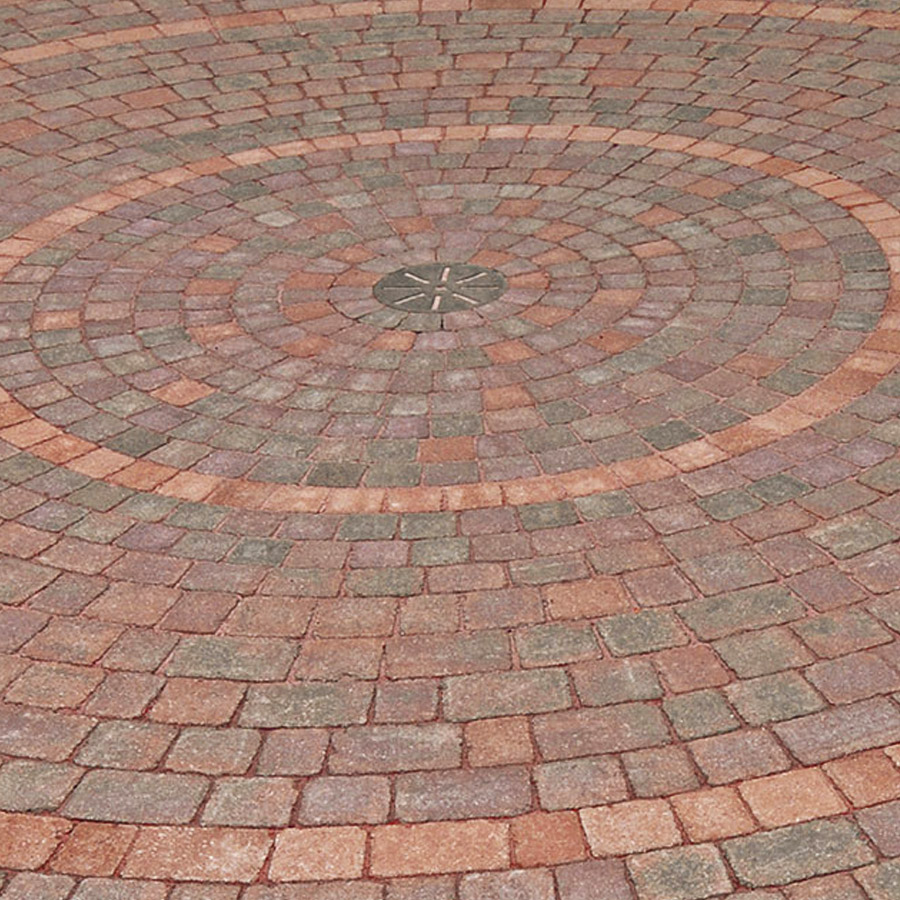 Block paving circles