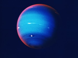 Neptune's blue isn't because it's minty fresh.