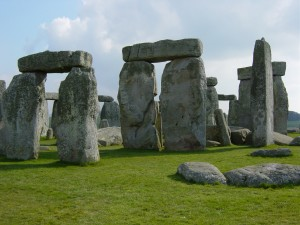 Stonehenge in closeup from wikipedia