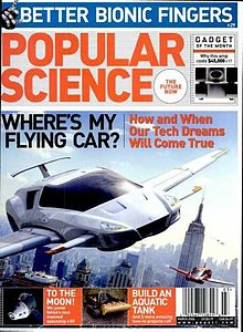 cover of popular science.
