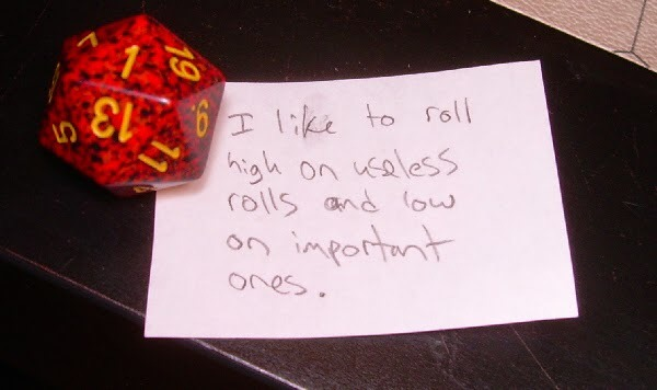 "ltalian: "" matt-meowstic: "" t3mp0r4ry: "" sirenknights: "" Dice Shaming "" Literally the best photoset I've ever seen on tumblr "" What the hell happened to the second to last one "" judgement "" More Dice Shaming! My kids have my luck it seems, either..."