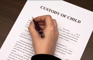 child custody, divorce