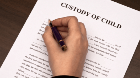 child custody, divorce