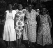 Aurelia Compean, Maria Nieto, Four Generations