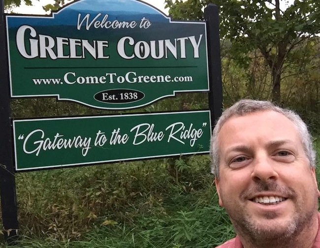 Jeff Greene at Greene County Virginia