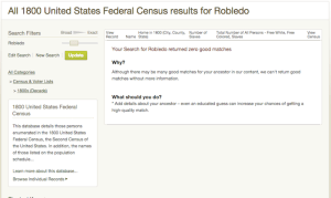 Robledo - 1800 US Census - Ancestry