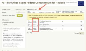 Robledo - 1810 US Census - Ancestry