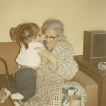 #52Ancestors: My Favorite Photo, the Only Photo of Me with My Great-Grandmother Maria (Nieto) Robledo
