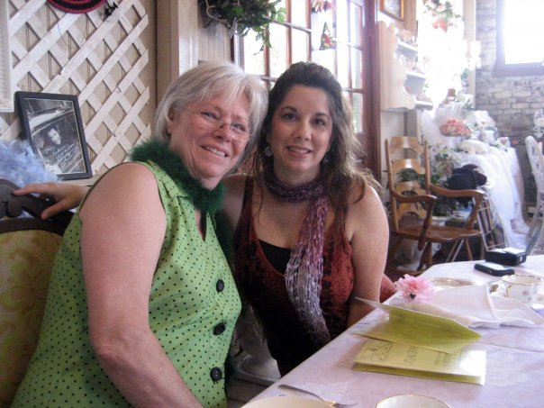 Colleen Robledo and Mom - Bridal Shower
