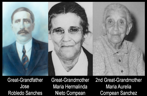 My Father's Paternal Mexican Immigrant Ancestors