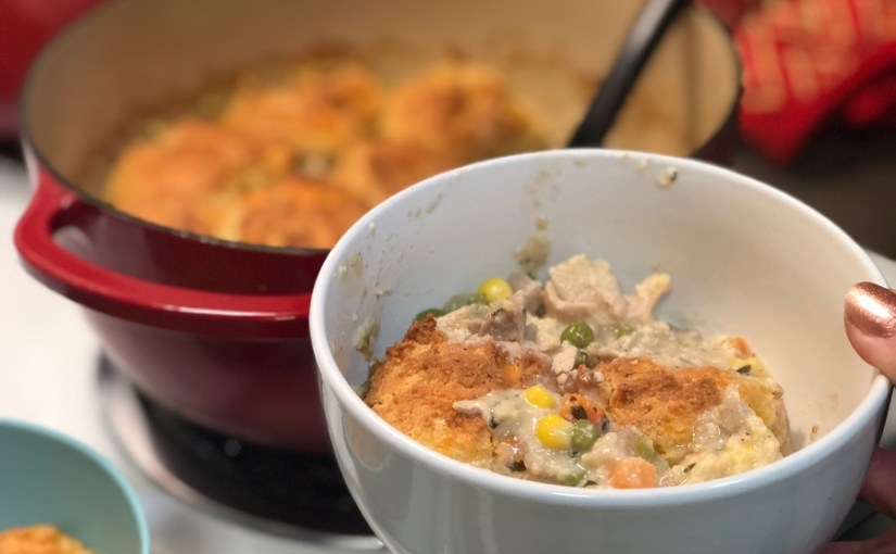 Keto Classic Homestyle Chicken and Biscuits | Keto Chicken and Dumplings