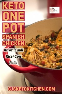 Pinterest Pin Keto Arroz Con Pollo