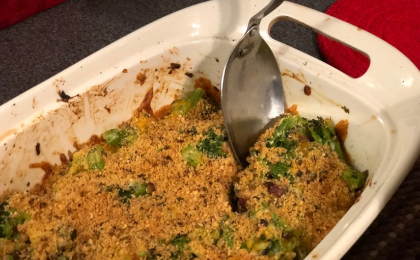 Keto Bacon Broccoli Casserole